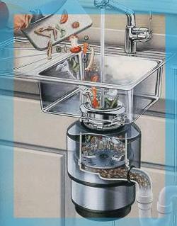 Triturador de comida para fregaderos