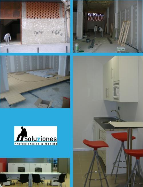 reforma oficinas reale albacete soluziones profesionales